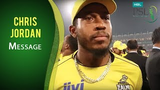 PSL 2017: Chris Jordan