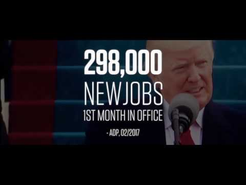 Donald Trump Make America Great Again Commercial March 31, 2017