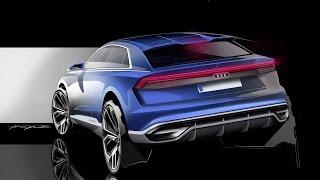 Audi Q8 Concept 3D animation