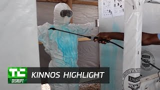 Kinnos Colorized Disinfectant | Disrupt SF 2017