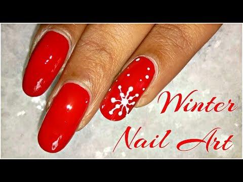 Winter Nail Art Designs Especially For Christmas