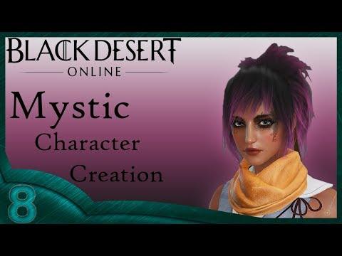 Black Dessert Online - Mystic Character Creation