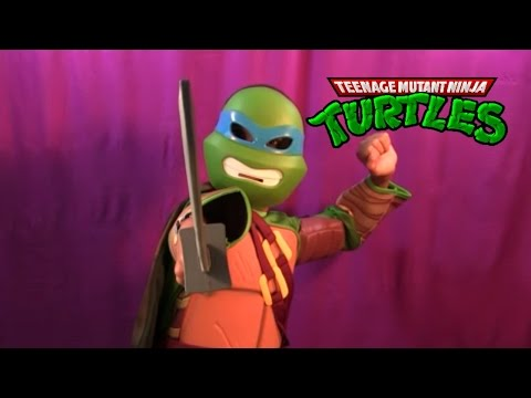 Tenage Mutant Ninja Turtles Halloween Surprise Box!!! Thanks Nickelodeon!!!