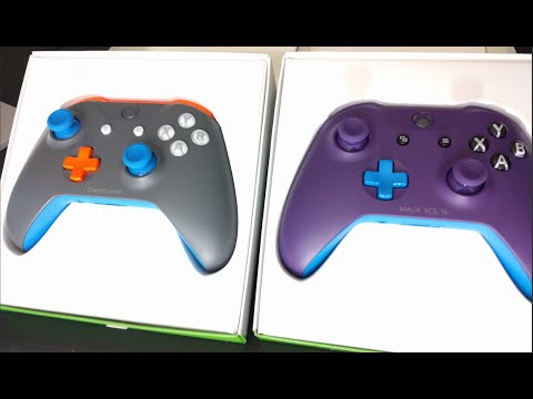 Xbox Design Lab Controller Double Unboxing!
