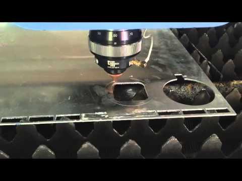 700W nLight fiber laser cutting machine for cutting 2mm thickness aluminum sheet