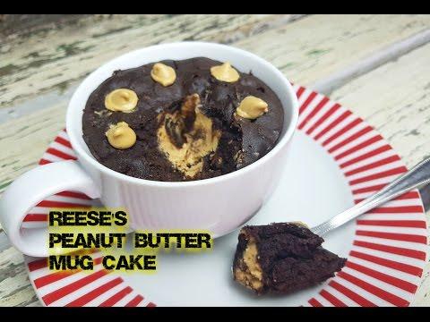 REESE'S PEANUT BUTTER MUG CAKE (no eggs) - CookingwithKarma