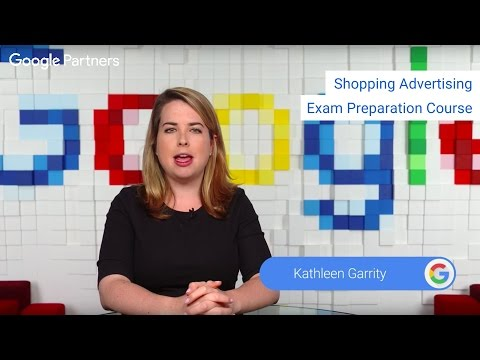 Shopping Advertising Exam Preparation Course
