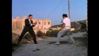 Jean Claude Van Damme vs Sho Kosugi_Black Eagle (Aguila Negra)