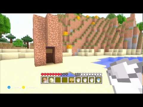 Minecraft Xbox 360 Edition - How To Make An Elevator.