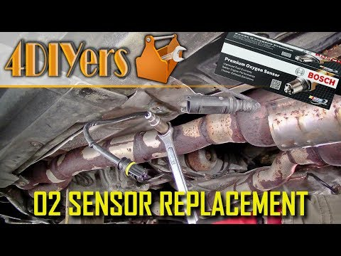 How to Troubleshoot and Replace an Oxygen (O2) Sensor