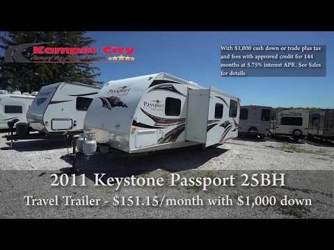 2011 Keystone Passport 25BH