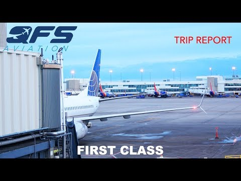 TRIP REPORT   United Airlines - 737 800 - Anchorage (ANC) to Denver (DEN)   First Class