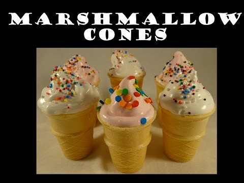 DIY Marshmallow Filled Cones - with yoyomax12