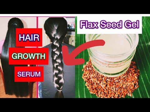 ஒரே வாரத்தில் 1 INCH முடி வளர ஆளி விதை ஜெல்( flax seed gel for hair growth) TAMIL BEAUTY TIPS