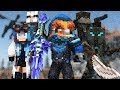 Quot Cold As Ice Quot  A Minecraft Original Music Video ♫