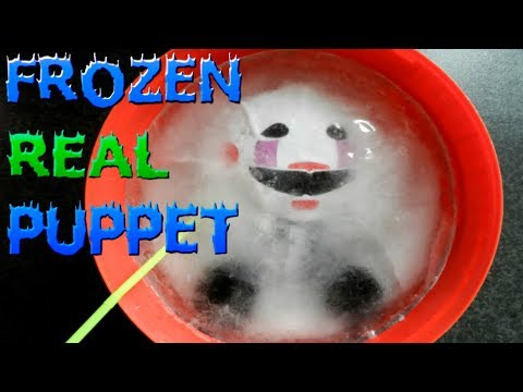 Fnaf Plush Frozen Puppet || Who Freeze Puppet?