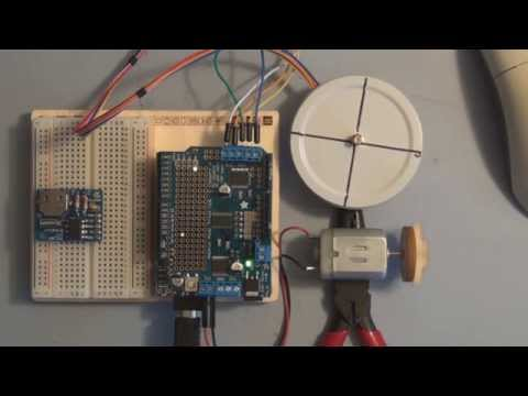 Arduino Uno DC Motor Speed and Direction Control using Adafruit Motor Shield