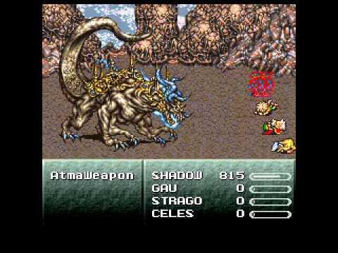 Final Fantasy VI: DCC - Checkpoint - Atma Weapon