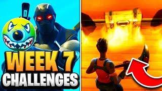 Fortnite Season 7 Week 7 Challenges GUIDE! How to Do Week 6 Challenges in Fortnite - Tutorial
