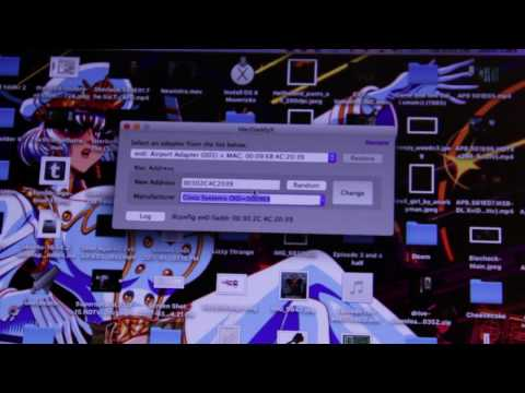Spoofing Made Easy [How to change your MAC address on Windows and Mac OSX]