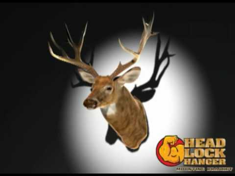 Headlock Hanger - Trophy Mounting Bracket