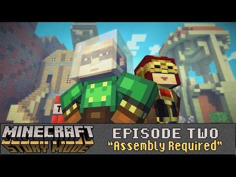 Minecraft: Story Mode (Telltale) - Let's Play - Episode 2: