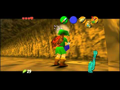 Ocarina of Time (HD) Tips and Tricks - Bean Plant Hole + Bugs = Gold Skulltulla