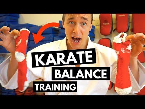 FUN KARATE EXERCISE FOR BALANCE TRAINING — Jesse Enkamp