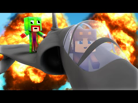 Minecraft - WHO'S YOUR DADDY? - BABY FLYS JET !? (Baby Blows Up World)
