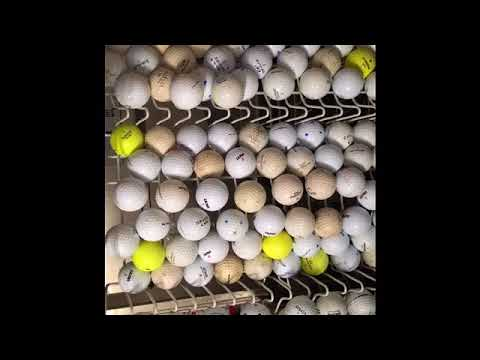 How To - Clean Golf Balls In Dishwasher
