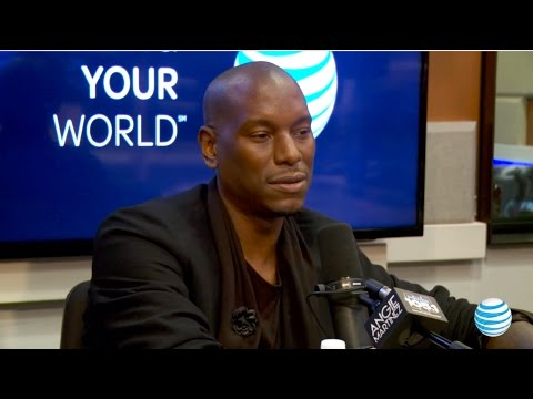 Tyrese Opens Up About His Ex Wife on The Angie Martinez Show