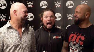 AJ Styles & The O.C. Do Their Best WWE Impressions!