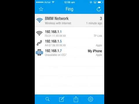 Find Users on your Wifi Network Using an App