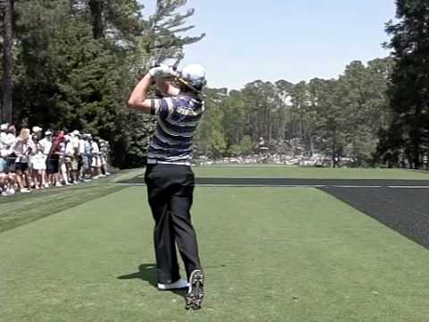Rory McIlroy swing - Iron - Down the Line