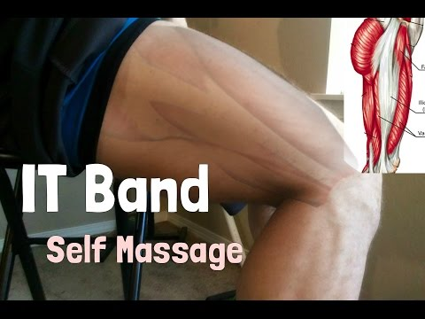 IT Band Release Self Massage (Leg/Knee Pain Relief)