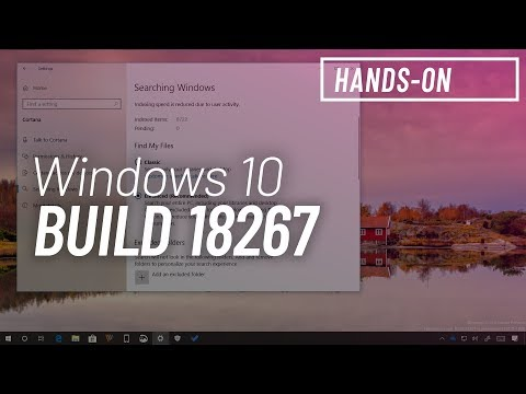 Windows 10 build 18267: Hands-on with Enhanced Search, touch keyboard, and more
