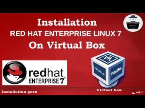 How to Install RedHat Linux 7 using ORACLE VM (OVM)