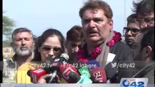 42 Report: Raza Murad of bollywood reaches Lahore