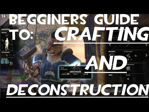 Basic Guide to Crafting and Deconstruction in ESO