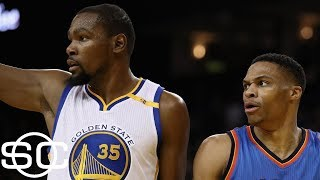 Kevin Durant, Russell Westbrook thriving since split | SportsCenter | ESPN