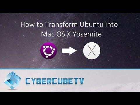 How to Transform Ubuntu into Mac OS X Yosemite
