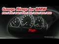 Gauge Rings for BMW E30 / E36 /  E46 / E39 / E60 / E63 / E90 / E92 and More...