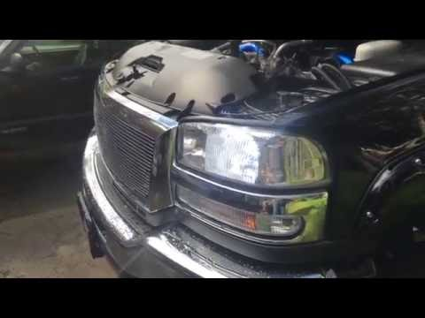 Installing OPT7 led headlights and fog lights in my GMC Sierra Duramax
