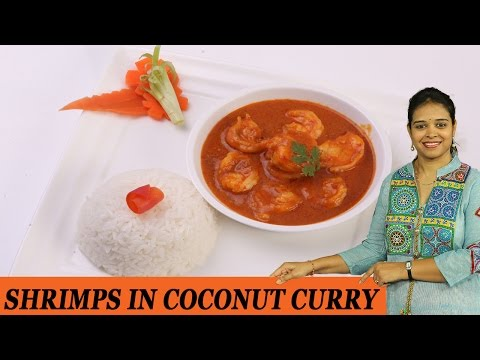 SHRIMPS IN COCONUT CURRY - Mrs Vahchef