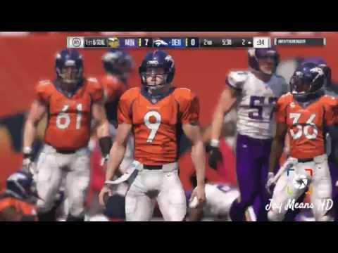 Denver Broncos Madden NFL 17 Unstoppable Plays [LIVE IN ACTION]