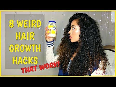 8 WEIRD TIPS FOR HOW TO GROW LONG CURLY HAIR QUICKLY - THAT WORK!