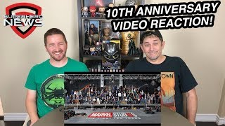 Marvel Studios 10th Anniversary Announcement – Class Photo Video Reaction
