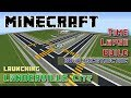 Minecraft Timelapse Build: The LanderVille Project Launching: Road Build Phase 1