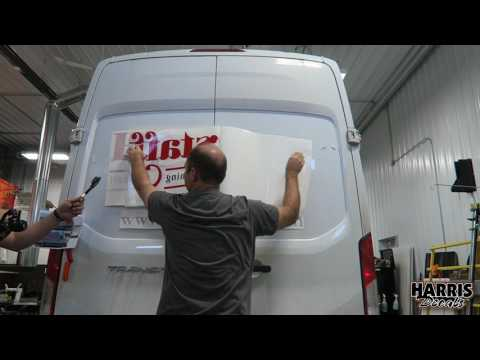 How to Apply Large Vinyl Graphics