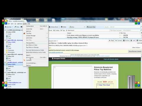Mozilla Thunderbird - How to Create Email Templates Easily